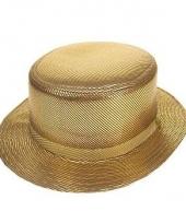 Luxe lou bandy hoed in het goud trend