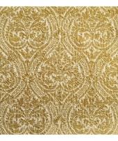 Luxe servetten barok motief goud 3 laags 15 stuks trend