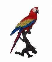 Luxe tropische vogel beeld papegaai 70 cm trend