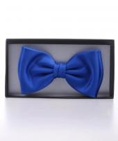 Luxe vlinderdas kobalt blauw trend