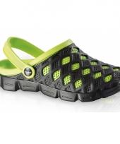 Luxe waterschoenen zwart groen trend