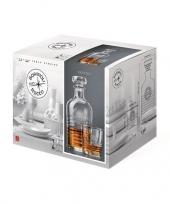 Luxe whiskey set met karaf en 6 glazen trend