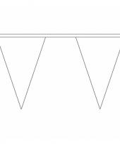 Luxe witte vlaggenlijn voor binnen en buiten trend