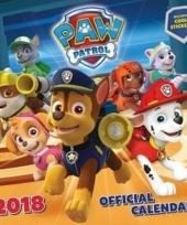 Maandkalender paw patrol 2018 trend