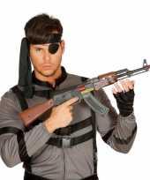 Machinegeweer plastic ak 47 62 cm trend