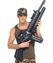 Machinegeweer zwart opblaasbaar trend