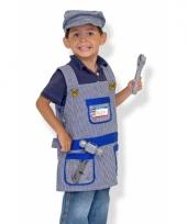 Machinist verkleedkleding voor kinderen trend