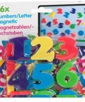 Magnetische alfabet cijfers trend