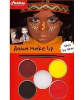 Make up setje indianen trend