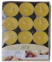 Mango fruitgeur kaarsen 24 stuks trend