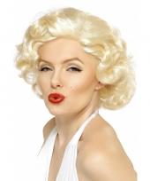 Marilyn monroe verkleed pruik trend 10030210