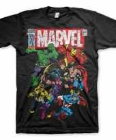 Marvel team shirt voor heren trend