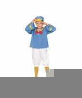 Matrozen eend kinder verkleed pak trend