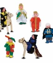 Medieval kasteel figuren 8 stuks trend