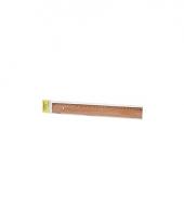 Meetlat van hout 30 cm trend