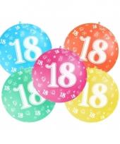 Mega ballon 18 jaar trend