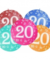 Mega ballon 20 jaar trend