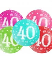 Mega ballon 40 jaar trend