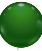 Mega grote groene ballon 70 cm trend
