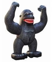 Mega realistische opblaas gorilla 243 cm trend