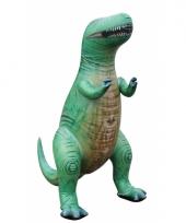 Mega realistische opblaas t rex 152 cm trend