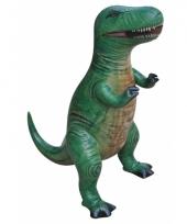 Mega realistische opblaas t rex 41 cm trend