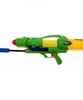Mega watergeweer groen met pomp trend