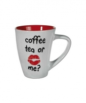 Melkbeker rood coffee tea or me trend