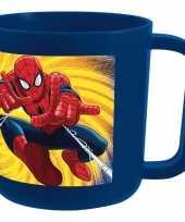 Melkbeker spiderman blauw trend