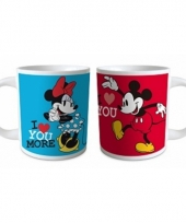 Melkbekers mickey en minnie 2x trend