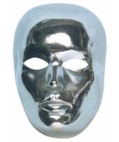 Mensen masker zilver trend