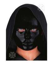 Mensen masker zwart trend
