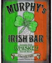 Metalen plaat murphys irish bar trend