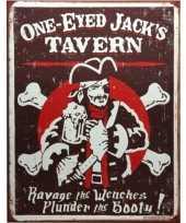 Metalen wandplaat jacks tavern trend