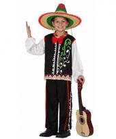 Mexicaanse senor kostuum voor jongens trend