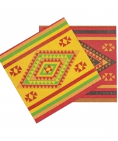 Mexico fiesta papieren servetjes trend