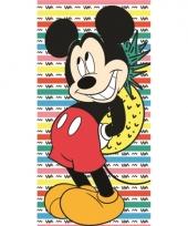 Mickey ananas badlaken 70 x 140 cm trend