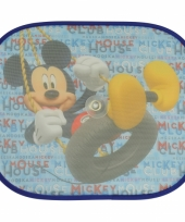 Mickey mouse auto zonnebeschermers 2 st trend