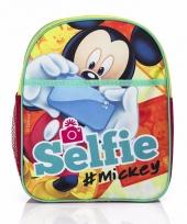Mickey mouse kinder rugtas selfie 31 cm trend