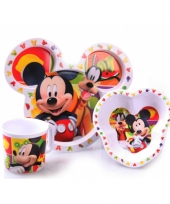Mickey mouse ontbijtset trend