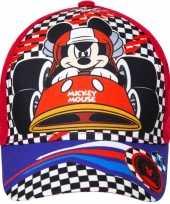 Mickey mouse pet cap rood voor kinderen trend