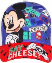 Mickey mouse pet wit voor kinderen trend