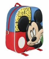 Mickey mouse rugtasje 3d voor kinderen trend
