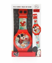 Mickey mouse wandklok 47 cm trend