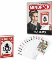 Mindfuck magie kaartspel met 25 illusies voor kinderen trend