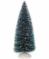 Miniatuur kerstboompjes groen 2 stuks trend
