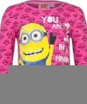 Minion t-shirt fuchsia trend