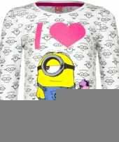 Minion t-shirt wit trend