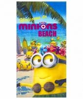 Minions beach badlaken 70 x 140 cm trend
