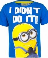 Minions kinder t-shirt i did not do it trend